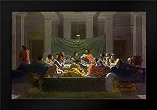 The Last Supper Framed Art Print by Poussin, Nicolas