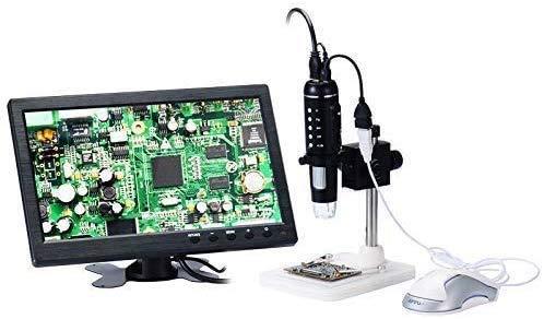 HD HDMI/USB 1000X Microscopio Digital Microscopio Magnifier Enfoque Ajustable con Modo de Mouse - para medición electrónica Industrial