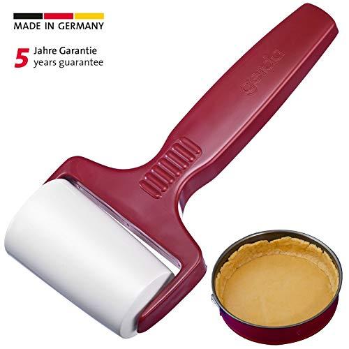 Westmark Backformwalze/-roller für runde Backformen, Konisch geformt, Kunststoff, Durchmesser: 4,6 cm, Rot/Weiß, 31402270