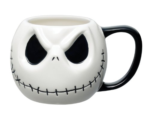 Jack's Face Nightmare Before Christmas Mug