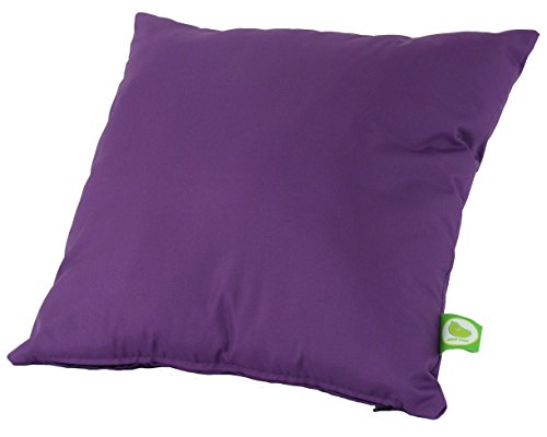 Waterproof Outdoor Garden Furniture Seat Cushion Filled with Pad By Bean Lazy - Purple