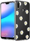SUMIXON Coque pour Huawei P20 Lite/Nova 3E, Housse de Protection en TPU Compatible avec Huawei P20...