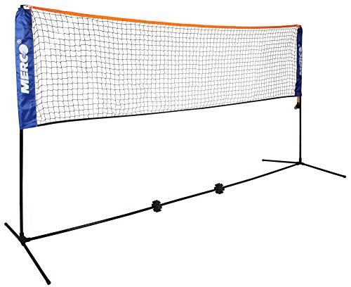 Merco Badminton/Tennis Set mit Netz 6,1m