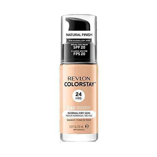 Revlon ColorStay Base de Maquillaje piel normal/seca FPS20 (#240 Medium Beige) 30ml