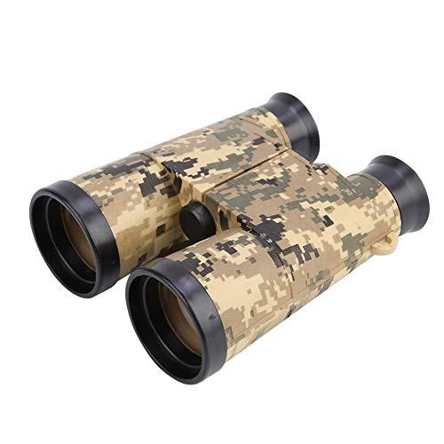 VGEBY1 Kinder Fernglas, 6 * 42 Kinder Teleskop Outdoor Military Games Spielzeug für Vogelbeobachtung Jagd Wandern(Armee-grüne Tarnung)