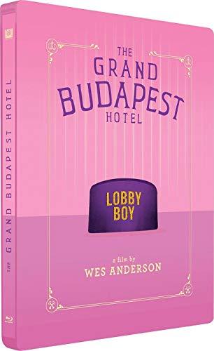 El Gran Hotel Budapest Steelbook 2019 Blu-Ray [Blu-ray]