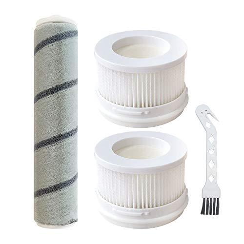 YBINGA Principal HEPA filtro rodillos cepillos para Mijia 1C mano Partes de aspirador de limpieza peine parte Partes de aspirador