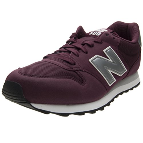 New Balance 500 Core, Zapatillas para Hombre, Rojo (Burgundy), 43 EU