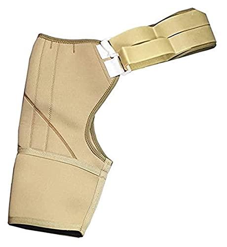 Soporte de Muslo Ajustable Pretente de Muslo Transpirable, Correas protésicas, cinturón de compresión de amputados de amputados para Hombres y Mujeres. (Color : Right, Size : Large)