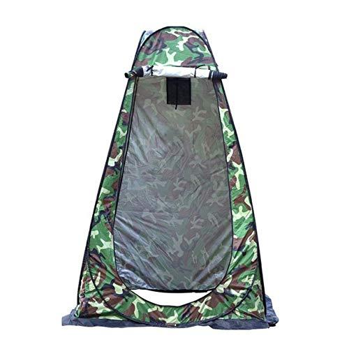 HUBi Tienda de campaña Ducha, instantáneo Pop Up Anti-UV ventilada Privacidad Aseo Cambio Cuarto de Vestir Tienda de Senderismo/al Aire Libre/Beach (Color : Camouflage)