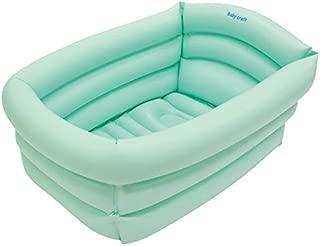 【ベビーバス】【浴槽 バスタブ】やわらかい素材でソフトな肌触り 空気でふくらますだけで使える 赤ちゃん用 沐浴バスタブ