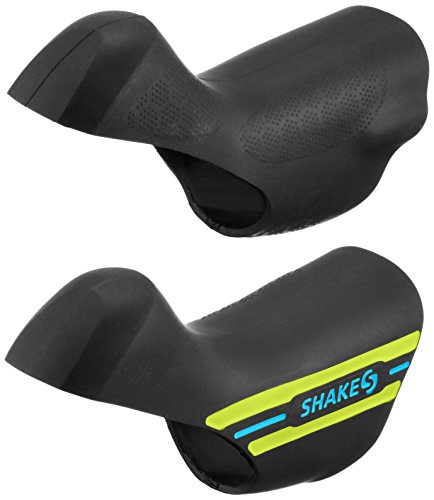 SHAKES HOOD(シェイクスフード) SH-6800H-BY11 STI レバー用 ブルー/イエローツートン (シマノST-6800/5800/4700シリーズ対応) ハード SH-6800H-BY11