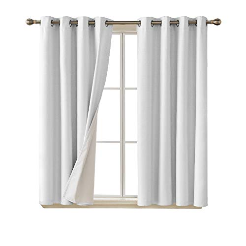 Deconovo Blackout Curtains with with Coating Back Layer Energy...
