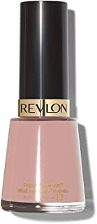 Revlon Nail Enamel, Chip Resistant Nail Polish, Glossy Shine Finish, in Nude/Brown, 165 Romantique, 0.5 oz