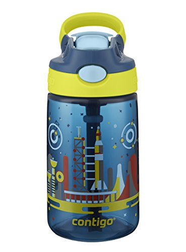 Top plastic water bottle with straw kids for 2021