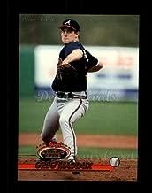1993 Topps # 665 Greg Maddux Atlanta Braves (Baseball Card) Dean's Cards 8 - NM/MT Braves
