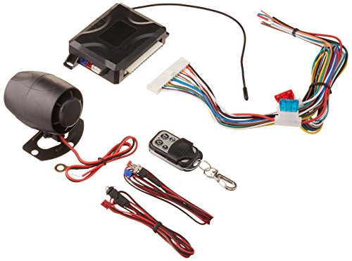 Xpress DX345 Car Alarm with Programmable Hijack System,...