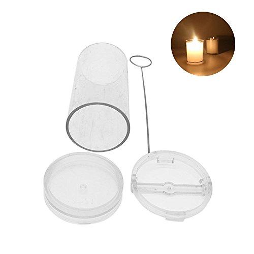 DIY Handgemaakte Kaars Cilinder-Vorm Wax Mold, Professionele Kaars Vorm Kunststof Kaars Mallen voor het maken van Kaarsen