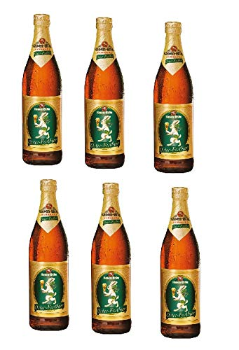 6 Flaschen Hasen-Bräu Osterfestbier Oster-Festbier Ostern 0,5l - MEHRWEG Pfand 5,8% Vol.