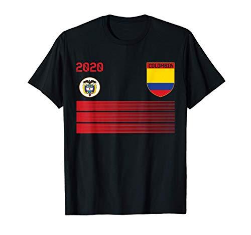 Maglia da calcio Colombia 2020 Colombia Soccer Maglietta