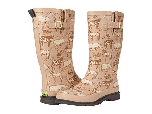 Western Chief Printed Tall Rain Boot Friendly Farm 9 M