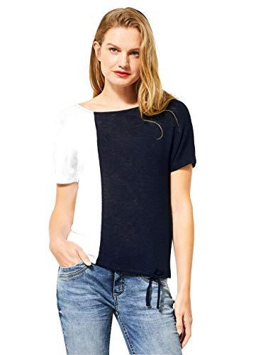 Street One 315087 Camiseta, Deep Blue, 48 para Mujer