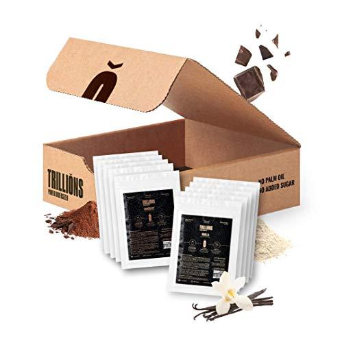 Trillions   Proteína de insecto y proteína de guisante sabor Vainilla y Chocolate , solo...