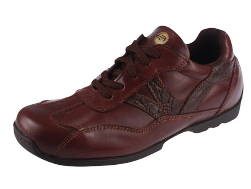 Birkenstock Footprints Darlington Leather Shoes (37 EU/US Women 6-Narrow, Mahagony)