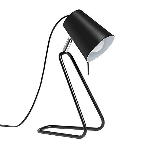 QPLKL Lámpara Lámpara de Estilo Europeo Moderno Minimalista Dormitorio de Noche Manera de la Personalidad Creativa de Aprendizaje Sala de Trabajo Mesa de Lectura lámpara de Mesa Lámpara de Escritorio
