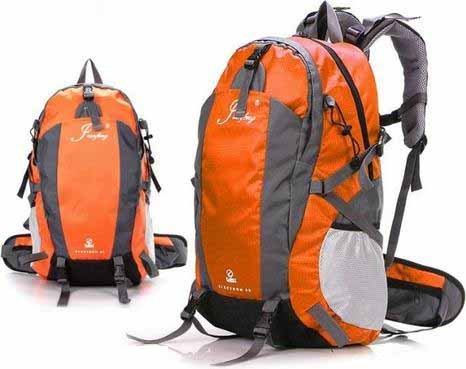 New Best Price Jianfeng Durable Waterproof Mountaineering Backpack Unisex Shoulders Bag 40 L (orange)