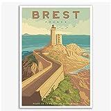 Xynfl Frankreich Brest Pointe du Petit Minou Vintage