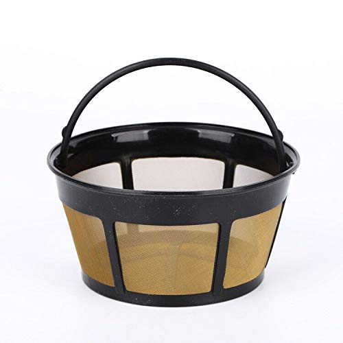 Reusable Coffee Filter, fits Bunn Coffee Maker and Brewer Replaces Your Bunn Coffee Filter 10 Cup Basket and Bunn Permanent Coffee Filter