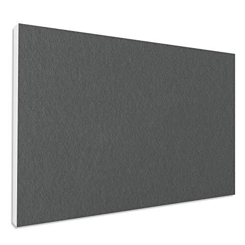 Schallabsorber aus Basotect ® G+ Rechteck 82,5 x 55 cm Akustik Element Schalldämmung, Farbe: GRANITGRAU