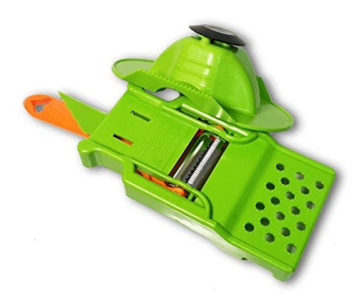 Heart Peeler 100 German Stainless Steel Ultra Sharp Dual Julienne Vegetable Peeler Swivel Blades on One Handle for Quick n Easy Vegetable Noodles Includes Mini-Mandoline Attachment Finger Guard
