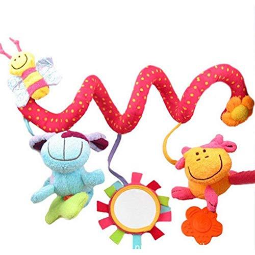 BTSEURY Actividad Espiral de bebé Juguetes Colgantes TRANSAMIENTO INTERACTIVOS TOYOS Juguetes JUGUETOS PRAMA DE PRÁVEN para BEBÍOS