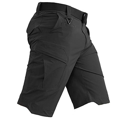 MAGCOMSEN Mens Shorts Cargo Work Hiking Tactical Shorts with 5 Pockets Quick Dry Sun Protection Tear Resistant