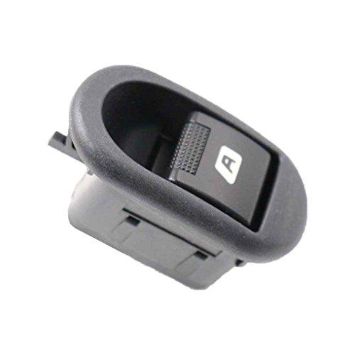 Xrlwood Para Citroen C2 C3 Peugeot 1007 interruptor del elevalunas eléctrico Cristales eléctricos Botón 6554.L7 accesorios del coche