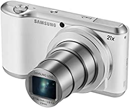 Samsung GC200 Galaxy Camera 2-16.3 Megapixel CMOS, 21x Optical Zoom, Android 4.3, WiFi and 4.8-inch Touchscreen LCD Display - White (Renewed)