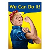 gerFogoo United States USA President Presidential Election Voting 2020 Donald Trump Poster 420297mm(Multi-Style09)