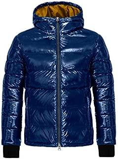 Geox M8429A T2504 Piumino Uomo Blu 54: Amazon.it: Abbigliamento