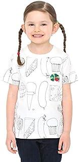 グラニフ(graniph) 【キッズ】コラボレーションキッズTシャツ/スケッチフード(エリックカール)