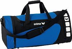 Erima Club 5 sports bag, New Royal / black, L