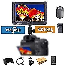"""LILLIPUT A7S 7"""" 1920x1200 IPS Screen Camera Field Monitor 4K HDMI Input Output Video for DSLR Mirrorless Camera Sony A7S I..."""