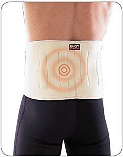 Body Sculpture SOLX-BNS-240-B Magnetic Waist Support, White/Beige