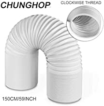 CHUNGHOP Air Conditioner Hose Portable Exhaust Vent Pipe with 5.9