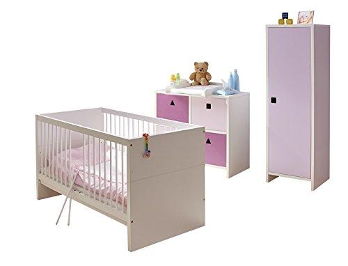 Ticaa Babyzimmer Cubo 3-teilig
