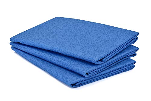 Dark Blue International Flame Retardant Bed Linen Pillowcases-Envelope End (50 cm x 76 cm, single) 522729-202.07, 30 (W) x 20 (H) inches (Standard)