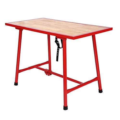 Werkbank klappbar Werktisch Arbeitstisch faltbar Packtisch Montagetisch Werkstatttisch 120x62,5 cm