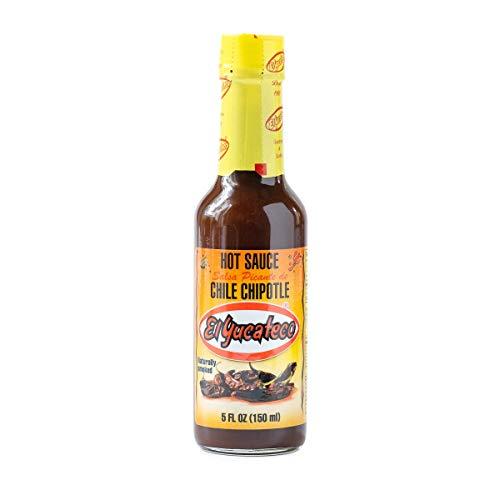 Chipotle Chili-Sauce, Flasche 150ml - Salsa Picante Chile Chipotle EL YUCATECO 150ml