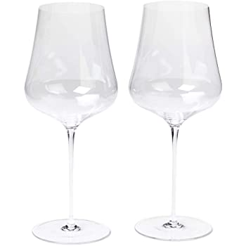 "Gabriel-Glas -Austrian Crystal Wine Glass - ""StandArt"" Edition - Set of 2"